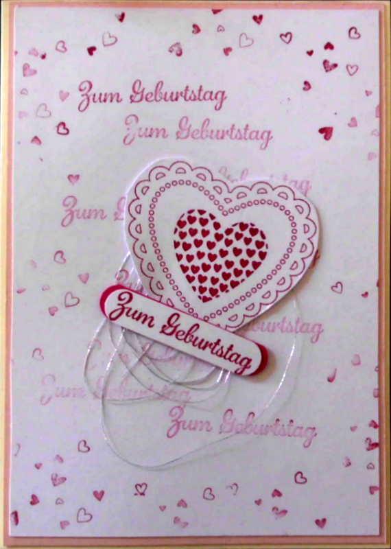 - Süsse, selbstgemachte Glückwunschkarte zum Geburtstag - Süsse, selbstgemachte Glückwunschkarte zum Geburtstag