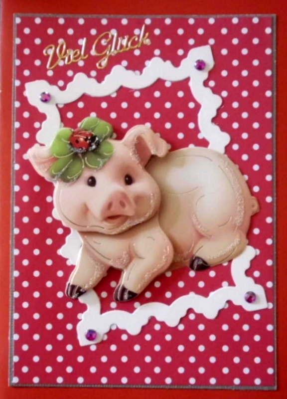 - Lustige, handgemachte Glückwunschkarte im 50er Jahre Stil - Lustige, handgemachte Glückwunschkarte im 50er Jahre Stil