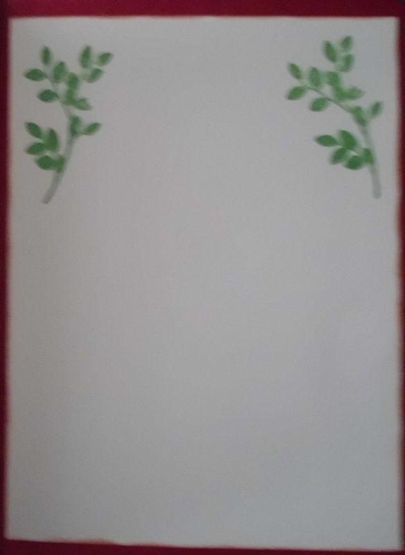 Kleinesbild - Schlichte, handgemachte Karte mit Stil.