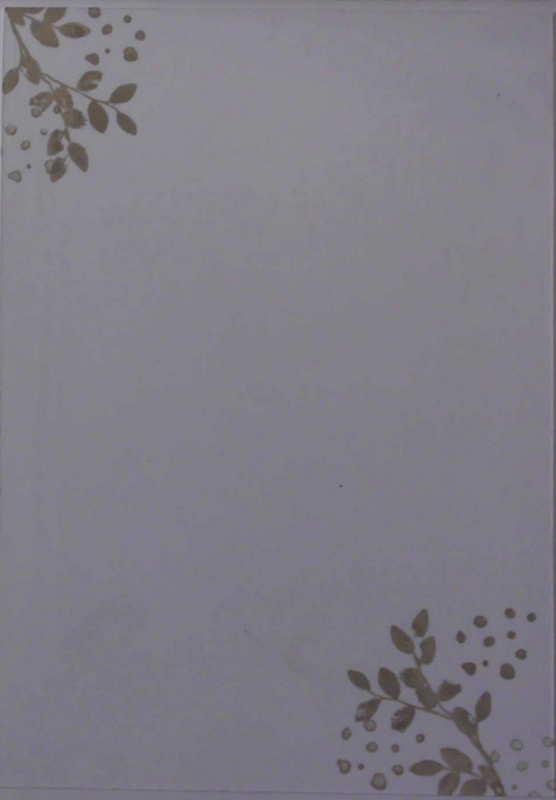 Kleinesbild - Handgemachte Wald und Wiesen Karte mit den Worten