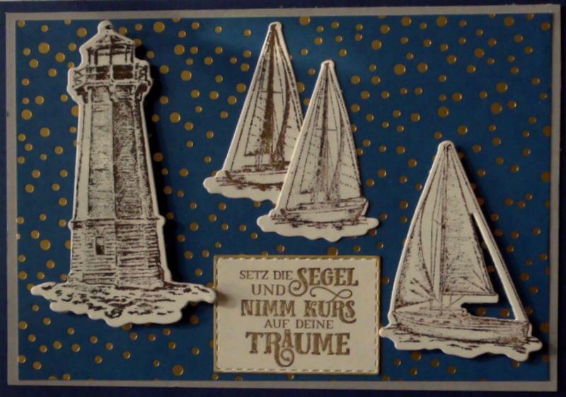 - Selbstgemachte, maritime Karte für jemanden, der die See und das Segeln liebt. - Selbstgemachte, maritime Karte für jemanden, der die See und das Segeln liebt.