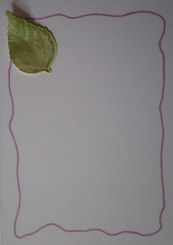 Kleinesbild - Sehr aufwendig gestaltete Grußkarte mit vielen Details