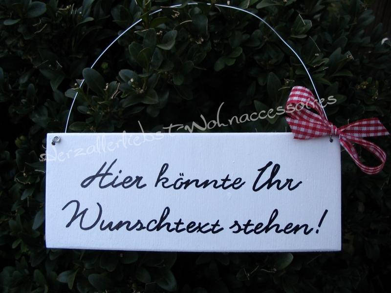 - Türschild mit Wunschtext ♥ Türschild aus Holz ♥ weiß - Türschild mit Wunschtext ♥ Türschild aus Holz ♥ weiß
