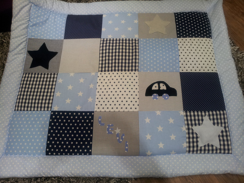 babydecke patchwork