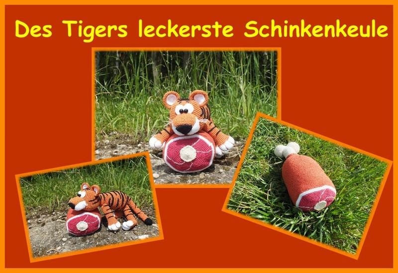 Tiger häkeln // weißer Tiger // DIY-PDF   548x800