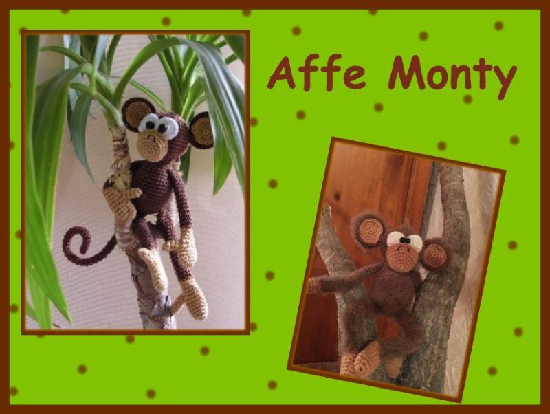 Affe crochet Amigurumi häkeln Affe Amigurumi Affe | Etsy | 600x473
