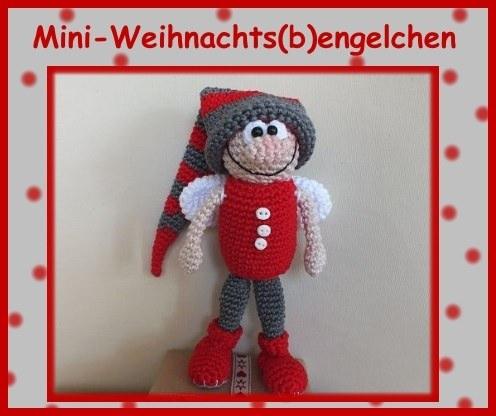 Weihnachts-Engel häkeln –DIY-Weihnachtsdeko ✓ | 416x496