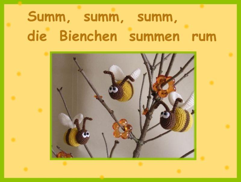 Biene häkeln - Kostenlose Anleitung für eine Amigurumi Biene - Talu.de | 471x578