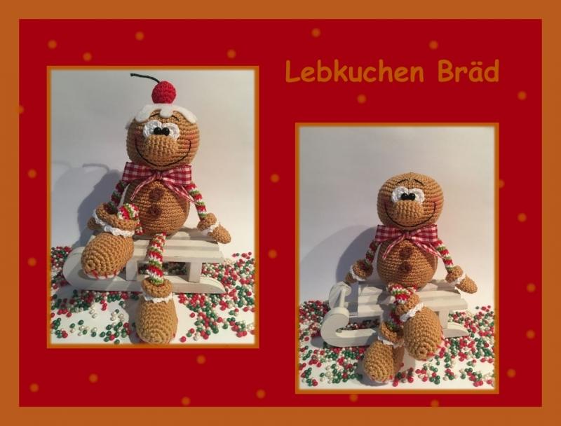 """-    ♡ Häkelanleitung """" Lebkuchen Bräd"""" ♡, Gehäkeltes, Amigurumi, Gingerbread, Lebkuchenmann -    ♡ Häkelanleitung """" Lebkuchen Bräd"""" ♡, Gehäkeltes, Amigurumi, Gingerbread, Lebkuchenmann"""