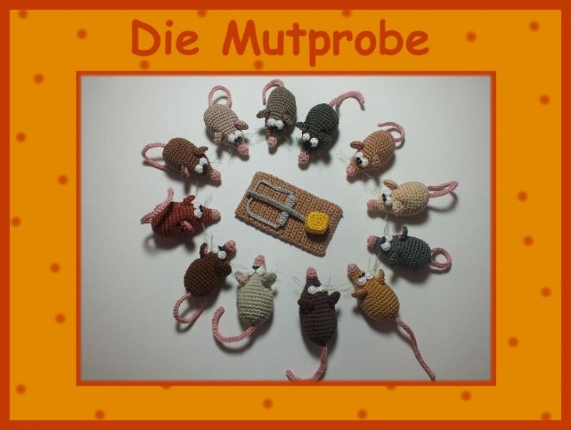 """-        ♡ Häkelanleitung """"Die Mutprobe"""" ♡, Mäuschen, Mausefalle, Amigurumi, Gehäkeltes -        ♡ Häkelanleitung """"Die Mutprobe"""" ♡, Mäuschen, Mausefalle, Amigurumi, Gehäkeltes"""