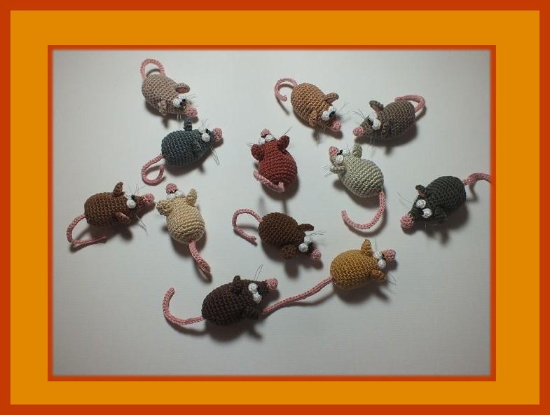 """Kleinesbild -        ♡ Häkelanleitung """"Die Mutprobe"""" ♡, Mäuschen, Mausefalle, Amigurumi, Gehäkeltes"""
