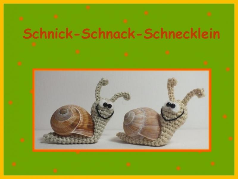 """-      ♡ Häkelanleitung """"Schnick-Schnack-Schnecklein"""" ♡, Schnecke, Amigurumi, Gehäkeltes -      ♡ Häkelanleitung """"Schnick-Schnack-Schnecklein"""" ♡, Schnecke, Amigurumi, Gehäkeltes"""