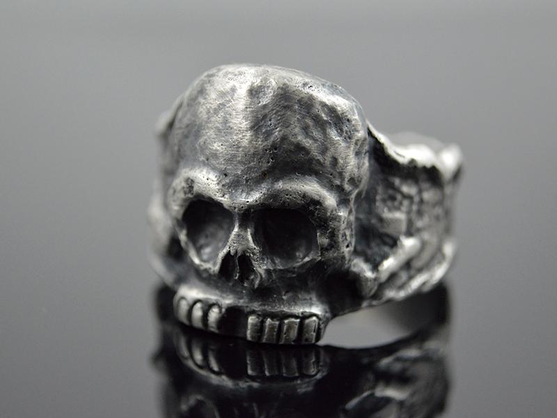 - Skullring ★ Calavera ★ Handgefertigt Unikat/ Sterling Silver - Skullring ★ Calavera ★ Handgefertigt Unikat/ Sterling Silver