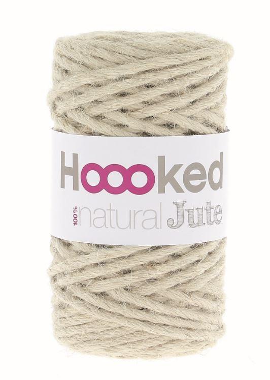 - Jutegarn fair trade Garn von Hoooked vanille - Jutegarn fair trade Garn von Hoooked vanille