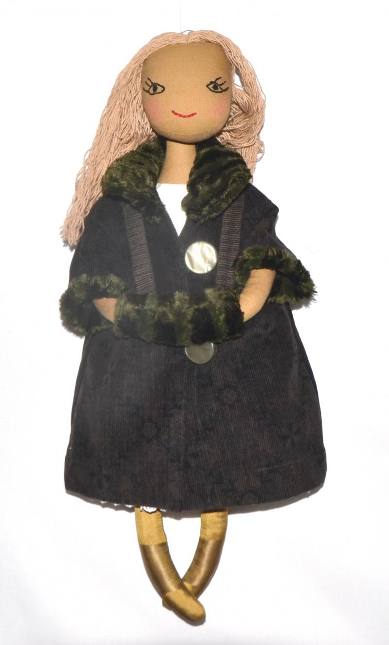 Puppenkleidung : Ein Puppenmantel für kalte Tage, für 40 -50 cm ...