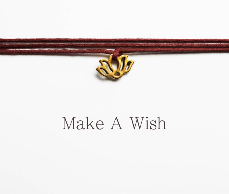 Schmuck : Wunscharmband Lotusblume - Lotus Armband - Wunsch dir was ...