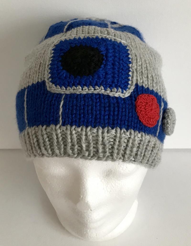 - Kinder Mütze R2D2 Star Wars Kopfumfang 52 - 54 cm - Kinder Mütze R2D2 Star Wars Kopfumfang 52 - 54 cm