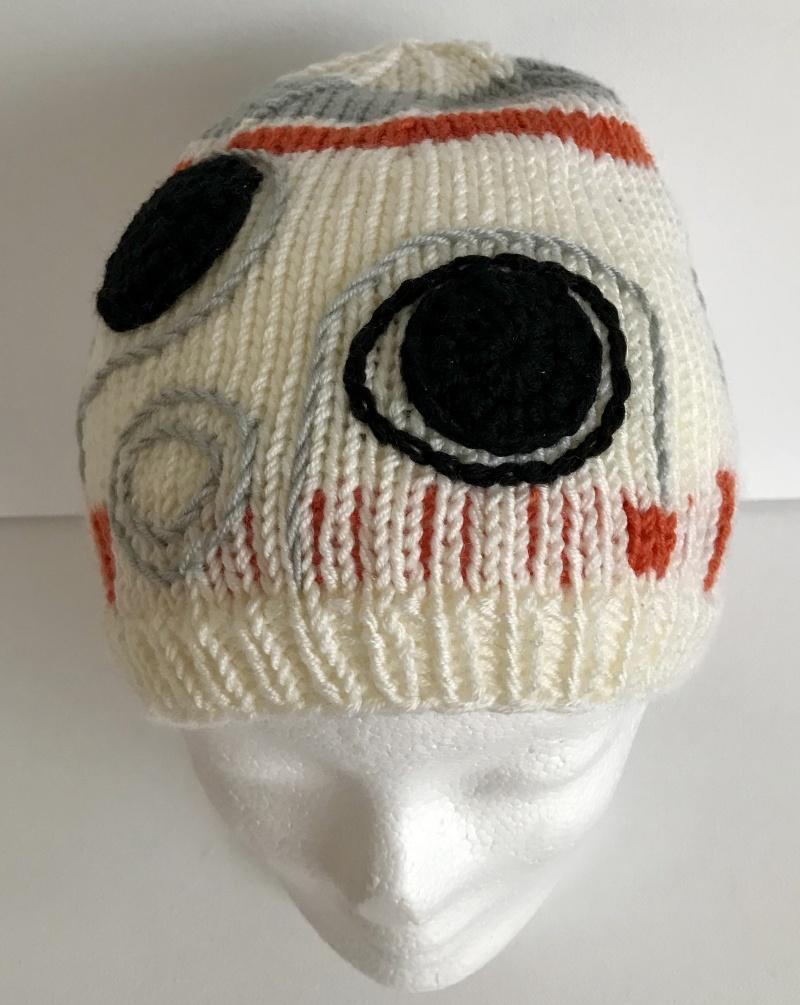 Kleinesbild - Mütze BB8 Star Wars Kopfumfang 54 - 58 cm
