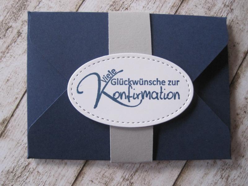 - Geldgeschenk Konfirmation, Verpackung Gutscheinkarte - Geldgeschenk Konfirmation, Verpackung Gutscheinkarte
