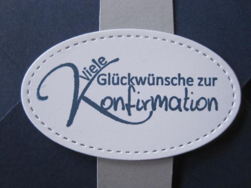 Kleinesbild - Geldgeschenk Konfirmation, Verpackung Gutscheinkarte
