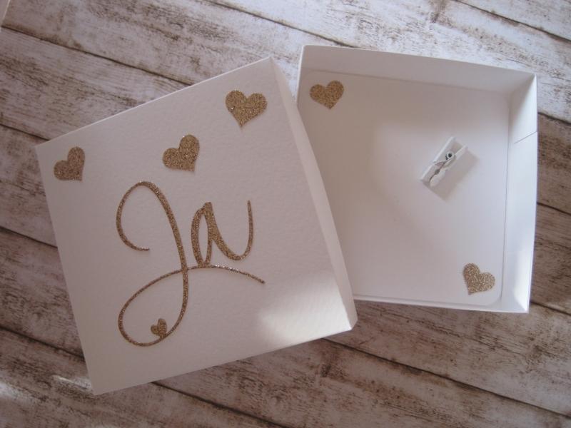 Kleinesbild - Geldgeschenk Hochzeit, Hochzeitsgeschenk, Geschenkschachtel Hochzeit, Wunscherfüller