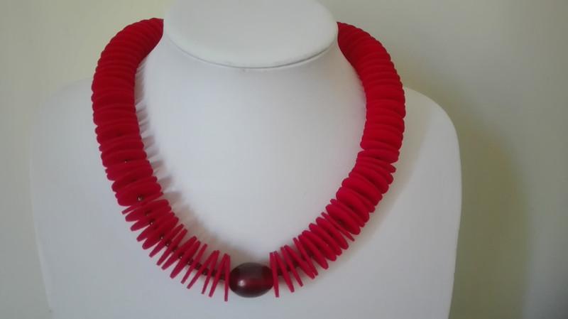 Kleinesbild - Filz-Rot
