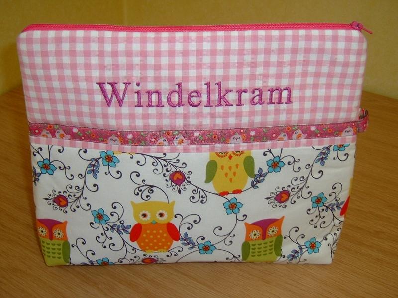 Babyartikel : Eulen Owls Windeltasche Wickeltasche Windelkram ...