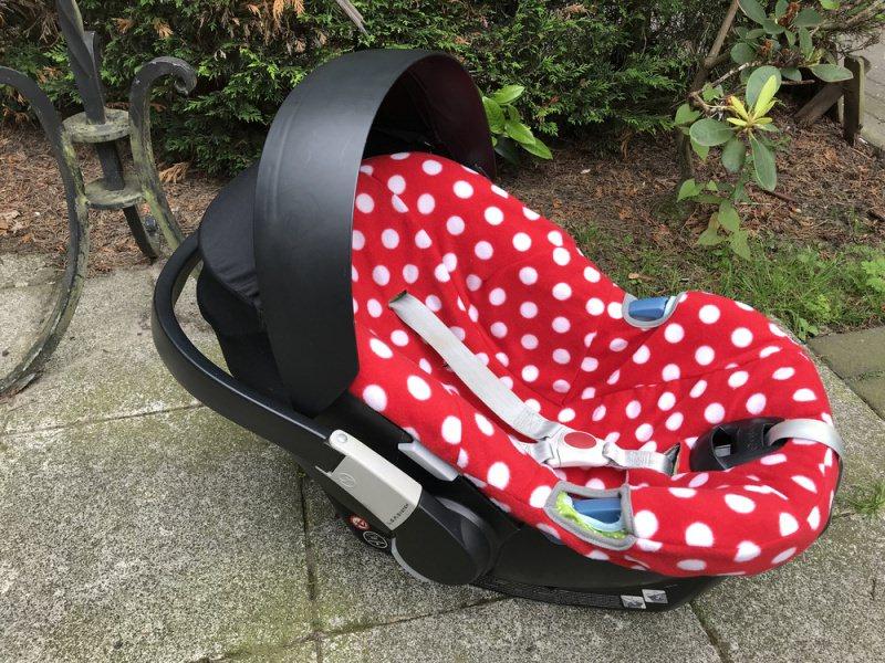 Nähanleitungen : Schonbezug Babyschale - Ebook - Schnittmuster