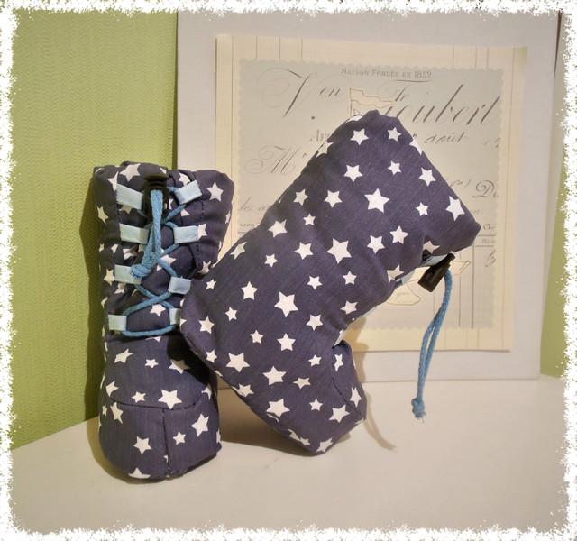 Babyartikel : Schnittmuster für Babystiefel Ebook Schuhe Winterstiefel