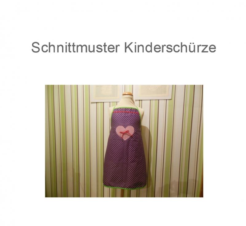Nähanleitungen : Schnittmuster Kinderschürze - Schürze ebook ...