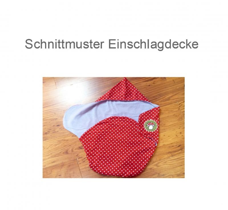 Nähanleitungen : Einschlagdecke Babyschale - Ebook - Schnittmuster ...