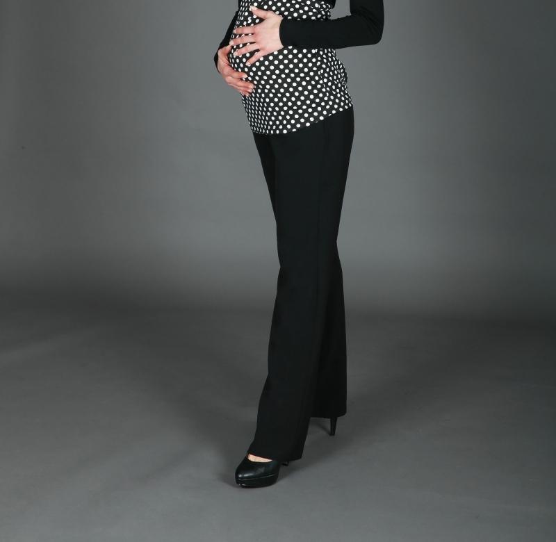 - Elegante klassische Umstandshose schwarz 38 40 44 46 48 50  - Elegante klassische Umstandshose schwarz 38 40 44 46 48 50