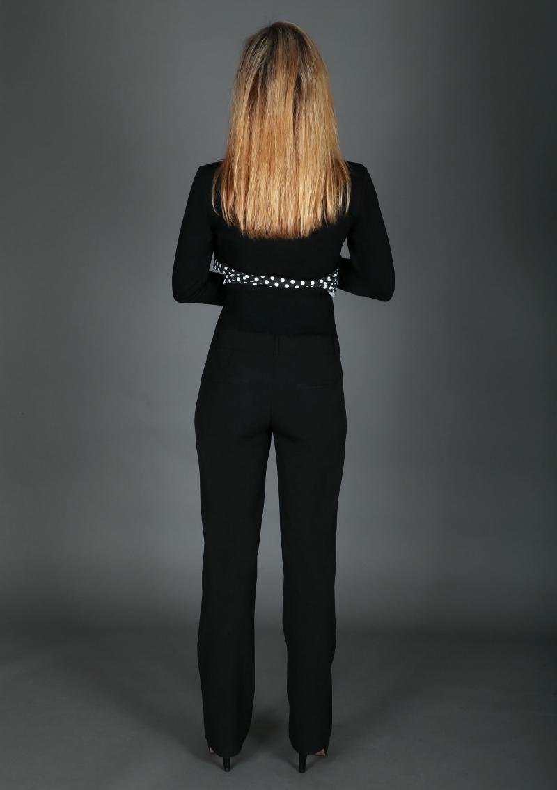 Kleinesbild - Elegante klassische Umstandshose schwarz 38 40 44 46 48 50