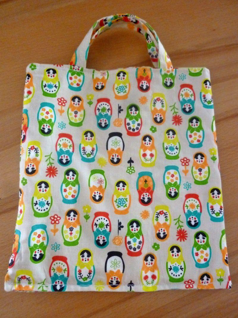 - Kindertasche * Stoffbeutel * Einkaufstasche aus Baumwollstoffen genäht kaufen * Wendetasche ~ Matroschka ~ - Kindertasche * Stoffbeutel * Einkaufstasche aus Baumwollstoffen genäht kaufen * Wendetasche ~ Matroschka ~