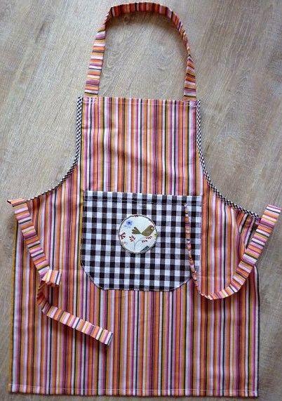 - Kinderschürze genäht aus Baumwollstoffen mit bunten Streifen kaufen ~ Backschürze ~ Kochschürze ~ Kaufladenschürze - Kinderschürze genäht aus Baumwollstoffen mit bunten Streifen kaufen ~ Backschürze ~ Kochschürze ~ Kaufladenschürze