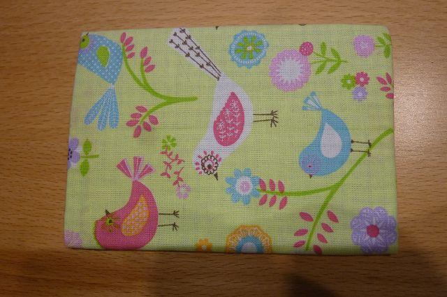 Kleinesbild - Taschentücher Tasche genäht aus Baumwollstoffen mit Vögeln kaufen * TaTüTa* Kosmetiktäschchen ~ griffbereite Taschentücher