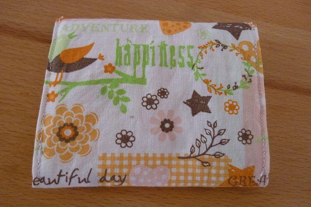 Kleinesbild - Täschchen bzw. kleines Portemonnaie aus Baumwollstoff mit verschiedenen Motiven genäht kaufen