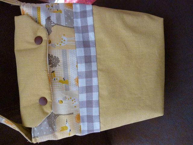 Kleinesbild - Kindertasche  genäht aus Baumwollstoffen kaufen ~*~  Kindergartentasche  ~*~ Umhängetasche mit Tiermotiven aus Afrika