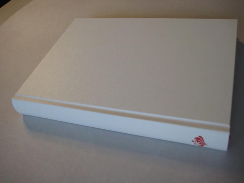 - handeingebundenes Schreibbuch mit Bibliotheksleinen-Einband - handeingebundenes Schreibbuch mit Bibliotheksleinen-Einband