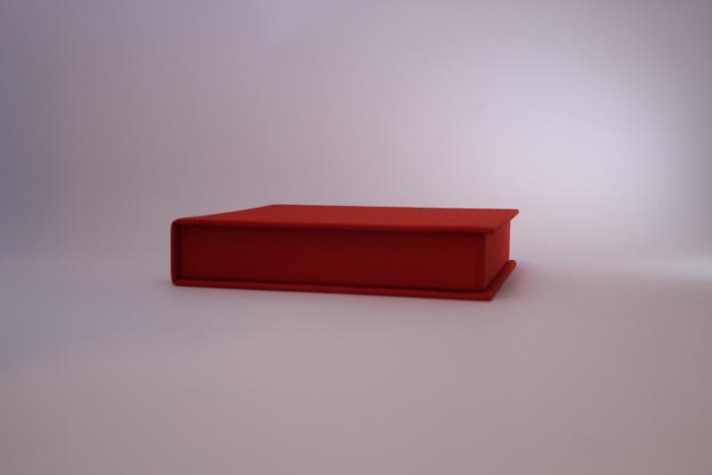 Kleinesbild - handgemachte CD-Klappkassette mit ineinandergreifenden Wänden