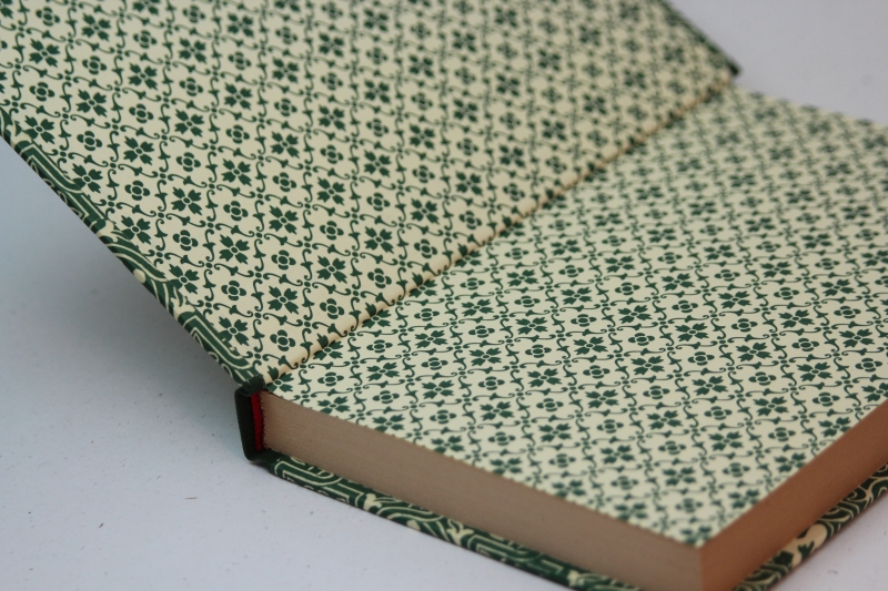 Kleinesbild - Märchen zusammengestellt von Manfred Kyber,1922, handeingebundenes antiquarisches Lesebuch im Edelpapp-Einband mit Lederbesatz