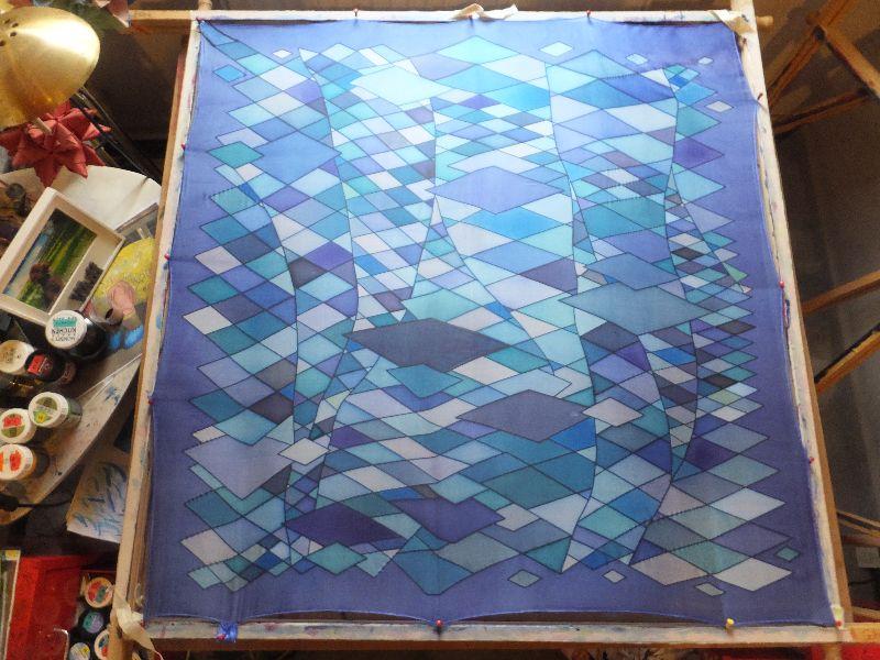 Kleinesbild - Ein phantastischer Traum in ganz vielen verschiedenen Blautönen