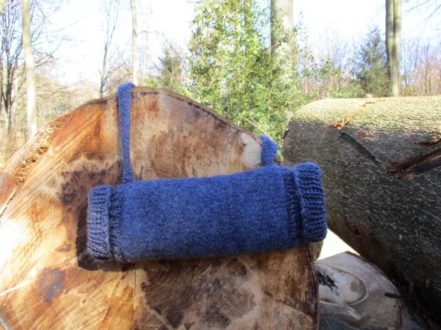 Kleinesbild - Muff, gemütlicher Handwärmer, auch praktisch für Menschen mit Behinderungen an den Händen