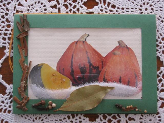 Kleinesbild - Kürbiskarte, Geburtstagskarte, Herbstkarte, Halloween