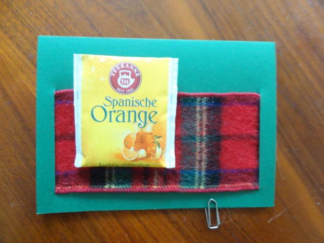 - Karte für Teetrinker, Klappkarte, ohne Teebeutel - Karte für Teetrinker, Klappkarte, ohne Teebeutel