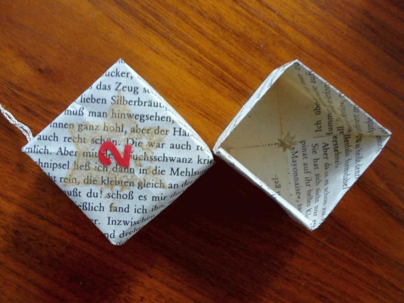 Kleinesbild - Adventskalender, 24 Faltschachteln, Origami