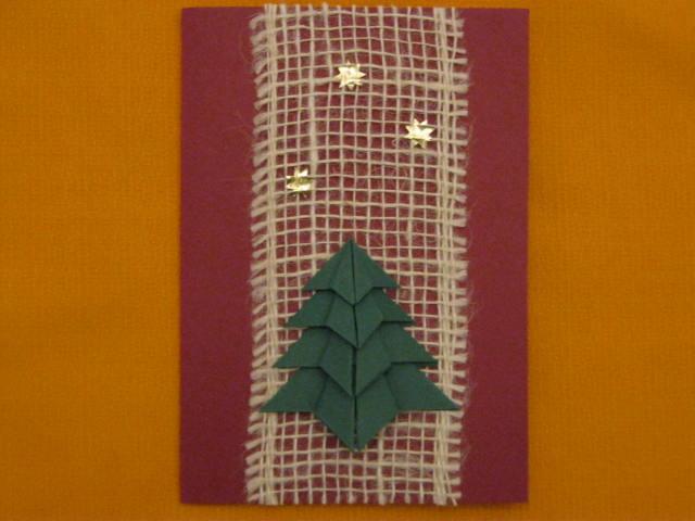 Kleinesbild - Weihnachtskarte mit Bastelanleitung