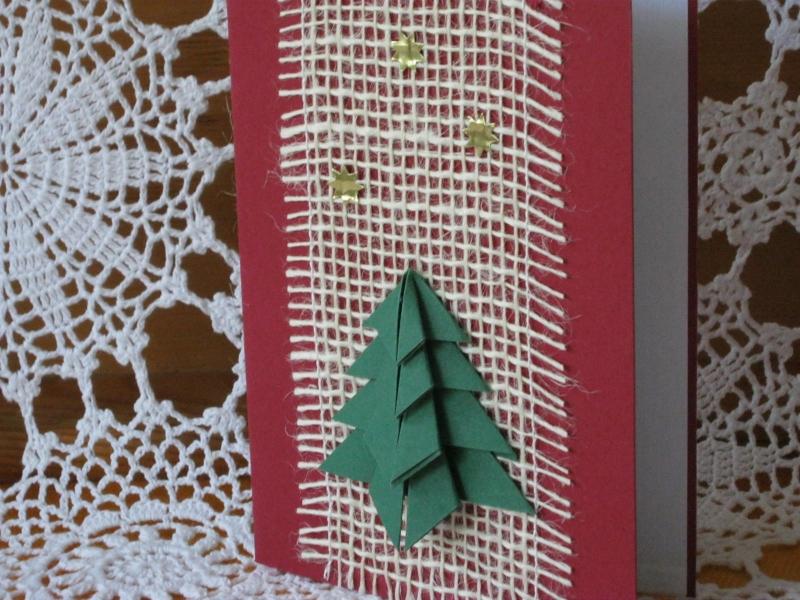 - Weihnachtskarte mit Bastelanleitung - Weihnachtskarte mit Bastelanleitung