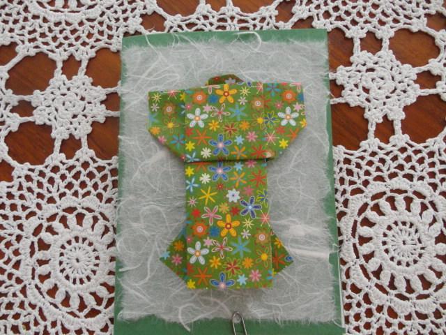 - Karte Kimono, Origamikarte - Karte Kimono, Origamikarte