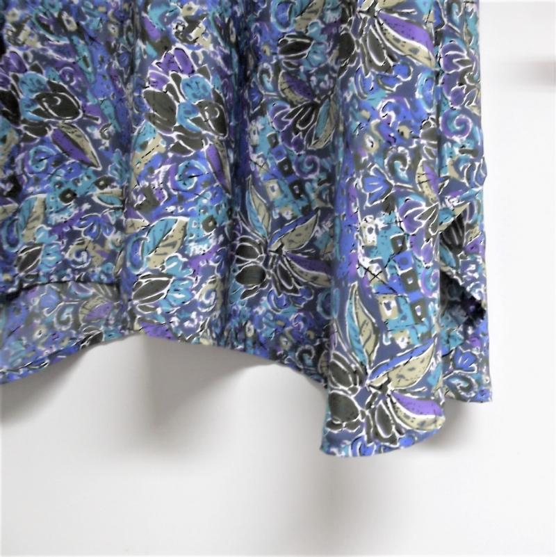 Kleinesbild - Zipfellongshirt in XL Format in Blautönen